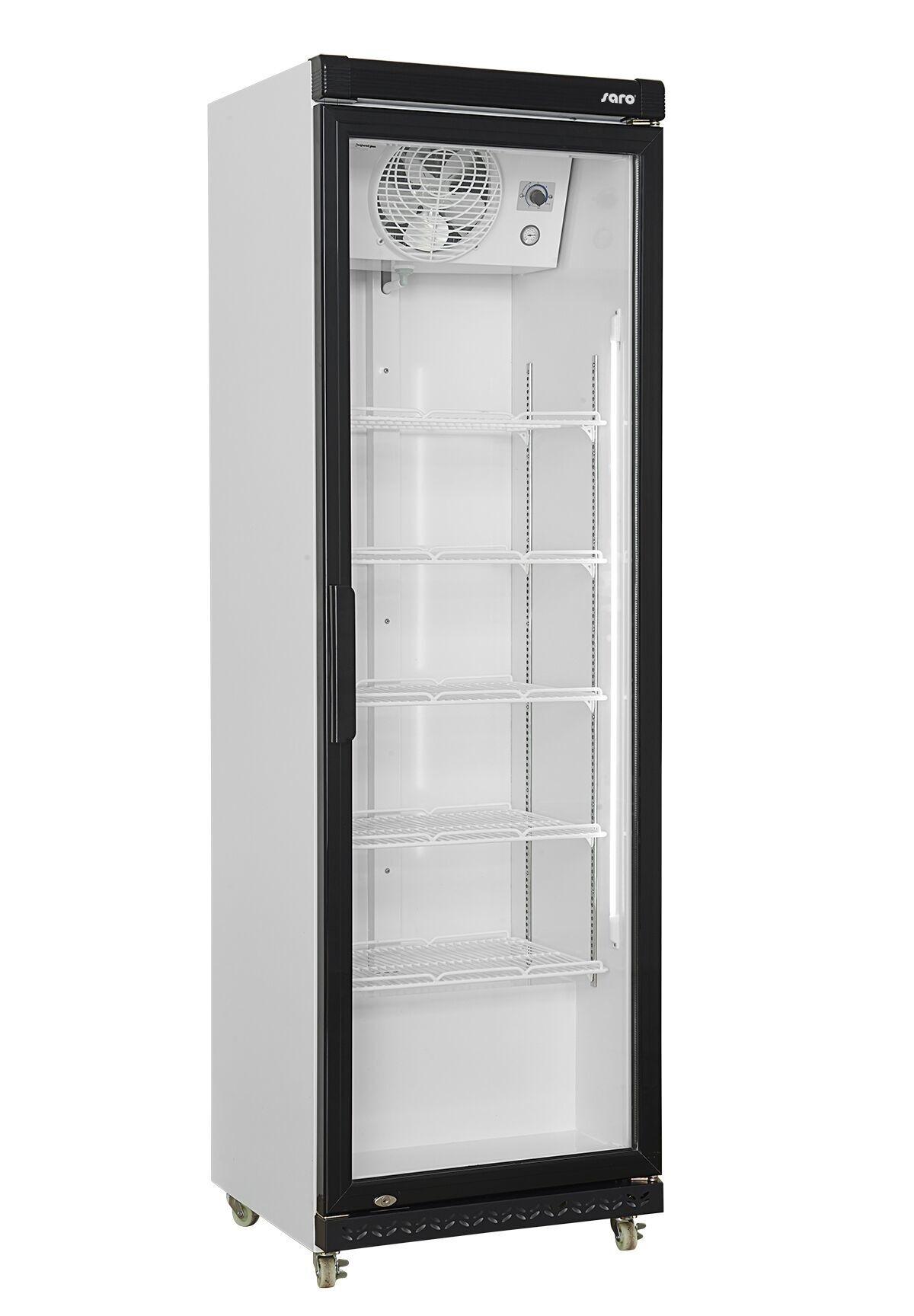 Saro Refroidisseur de Bouteille Avec porte en verre Éclairage led 425 Litres 610x635x(H)1973mm