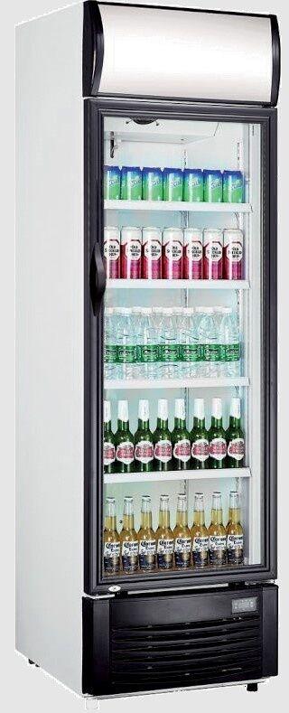 Saro Refroidisseur de Bouteille Avec porte en verre Éclairage led 382 Litres 620x630x(H)1935mm