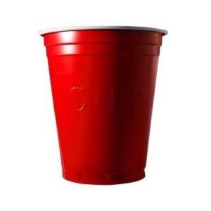 20 Gobelets Americain Rouge 53cl - Original Cup - Publicité
