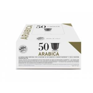 Nespresso Capsules Nespresso® compatibles Espresso Arabica Caffè Vergnano x 50 - Publicité