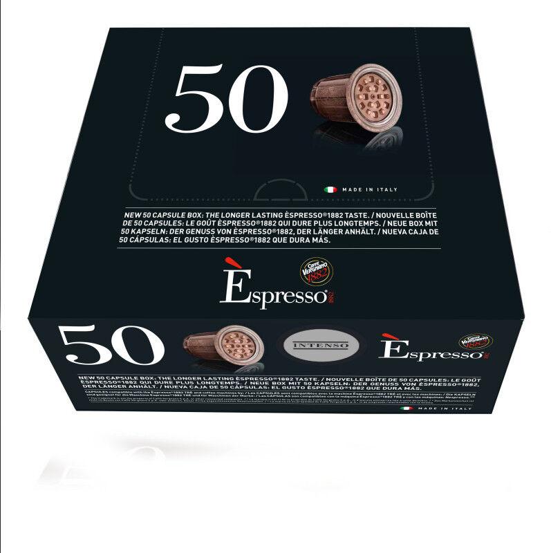Nespresso Capsules Espresso Intenso Nespresso® compatibles Caffè Vergnano x 50