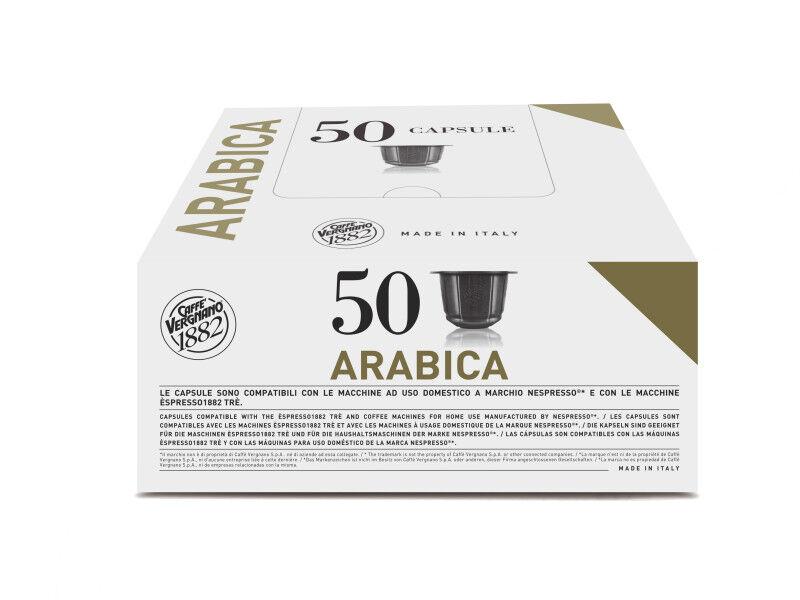 Nespresso Capsules Nespresso® compatibles Espresso Arabica Caffè Vergnano x 50
