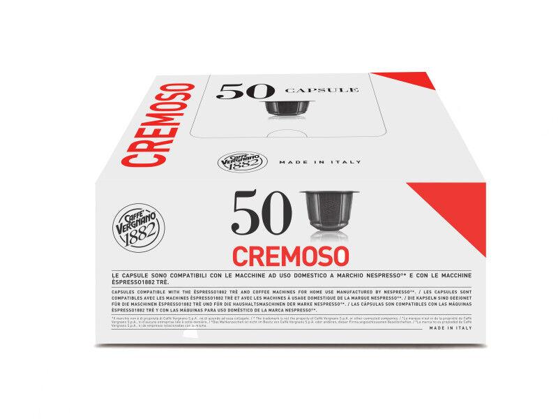 Nespresso Capsules Nespresso® compatibles Caffè Vergnano Espresso Cremoso x 50