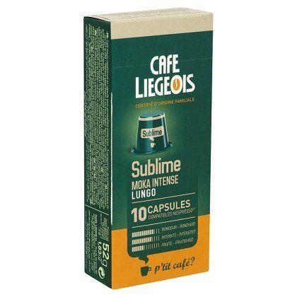 Nespresso 10 Capsules compatible Nespresso® SUBLIME - Café Liegeois