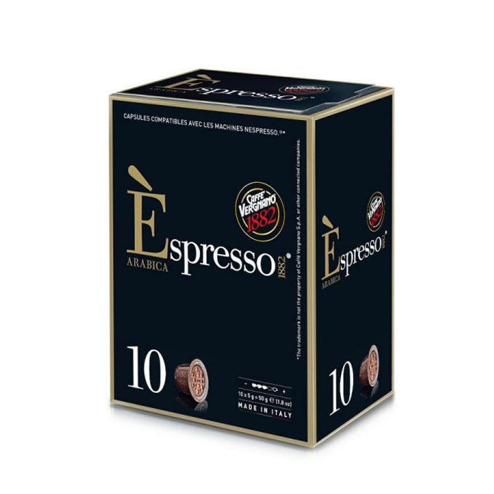 Nespresso Capsules Nespresso® compatibles Espresso Arabica Caffè Vergnano x 10
