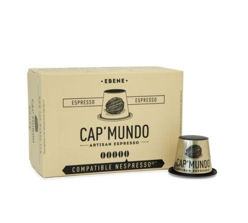 Nespresso 10 Capsules Nespresso® compatibles Ebene Corsé Cap'Mundo