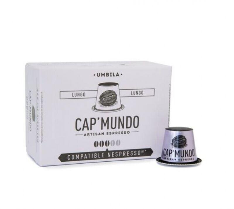 Nespresso 10 Capsules Nespresso® compatibles Umbila Lungo Cap'Mundo