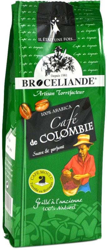 Café moulu Colombie Brocéliande - 250 g DLUO 07/21
