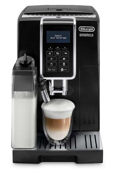 Machine à café noire Dinamica broyeur à grains De'Longhi FEB 3555.B
