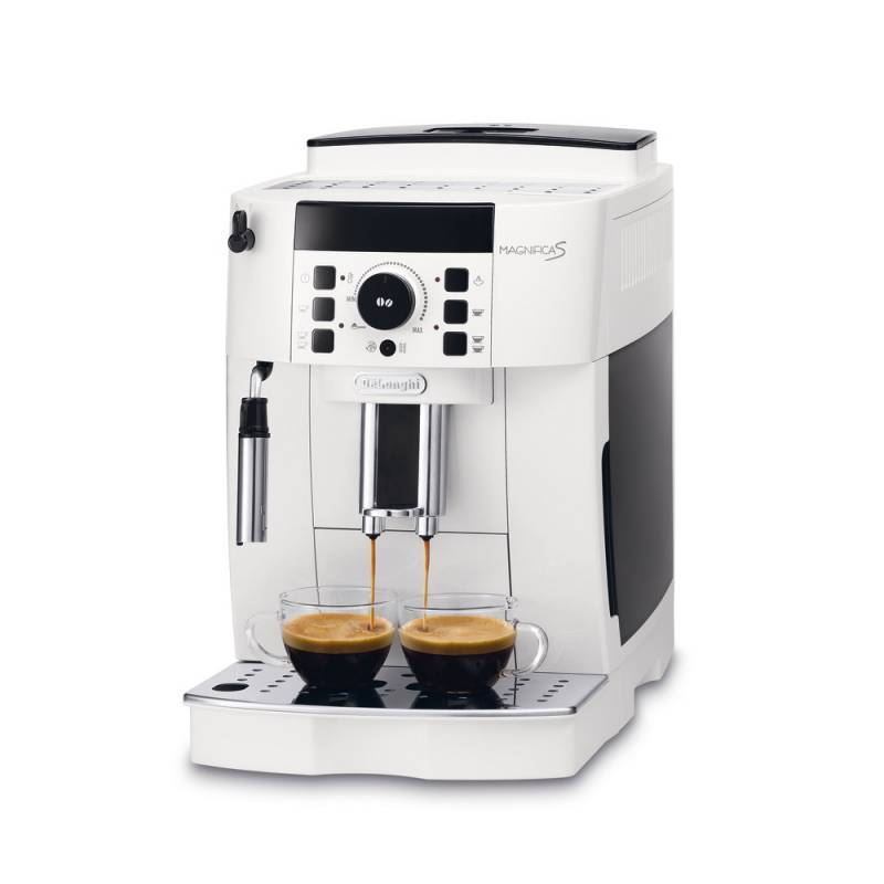 Machine à café blanche MAGNIFICA S De'Longhi ECAM 21.117.W