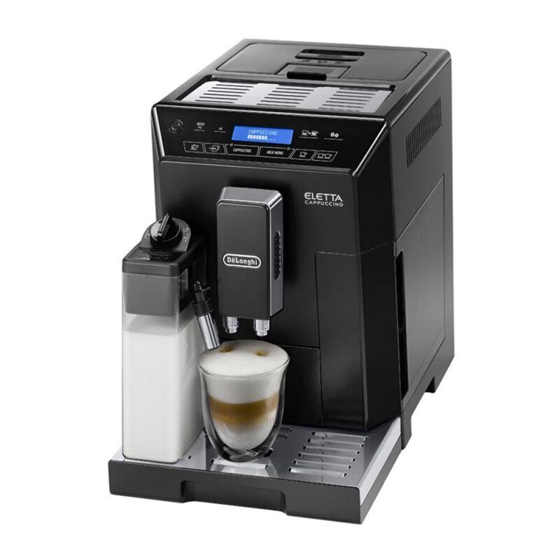 Machine à café noire Eletta broyeur à grains De'Longhi ECAM 44.660.B