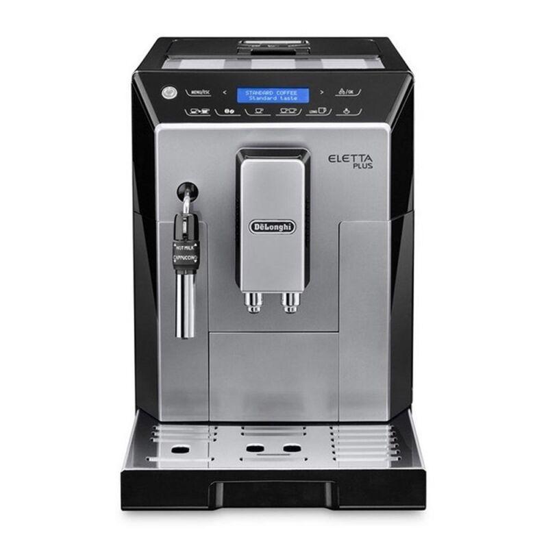 Machine à café noire et argent Eletta Plus De'Longhi ECAM 44.620.S
