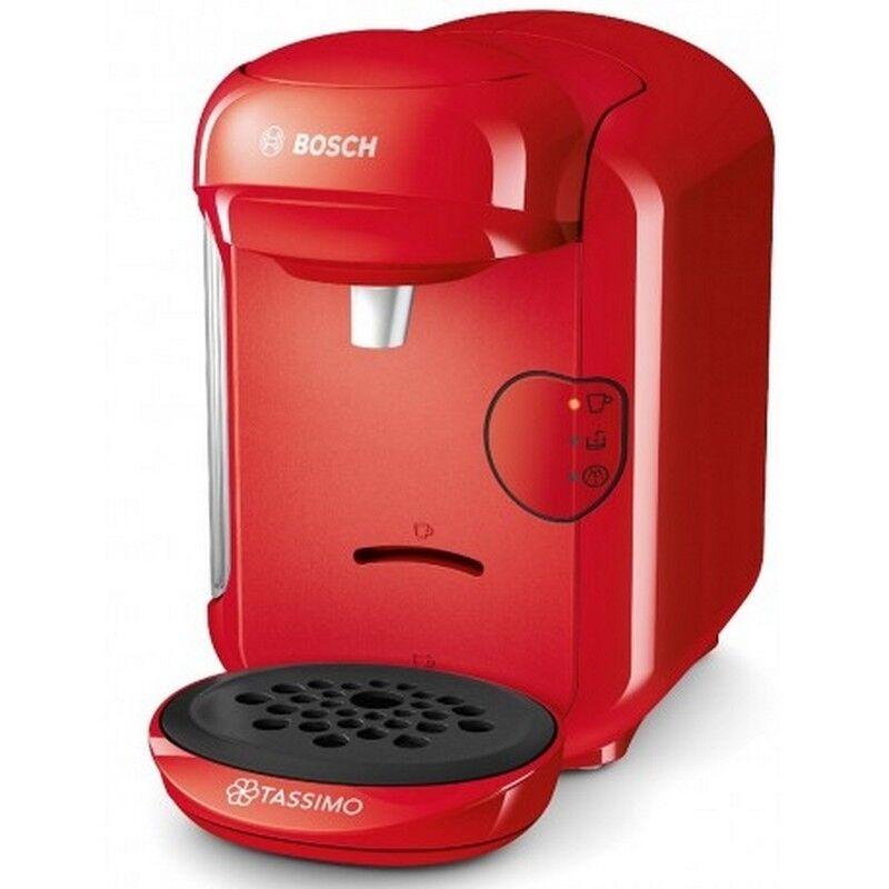 Machine à café machine a dosette Bosch rouge