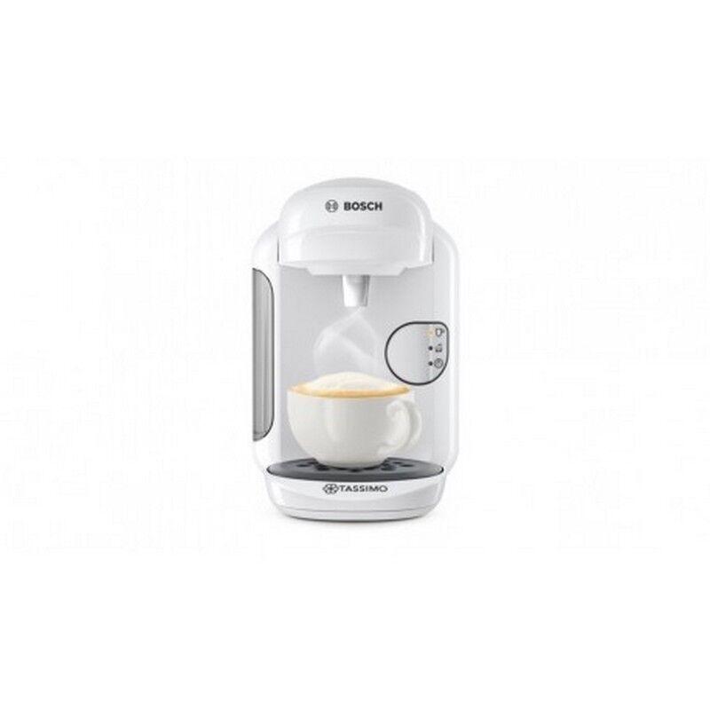 Machine à café machine a dosette Bosch blanche