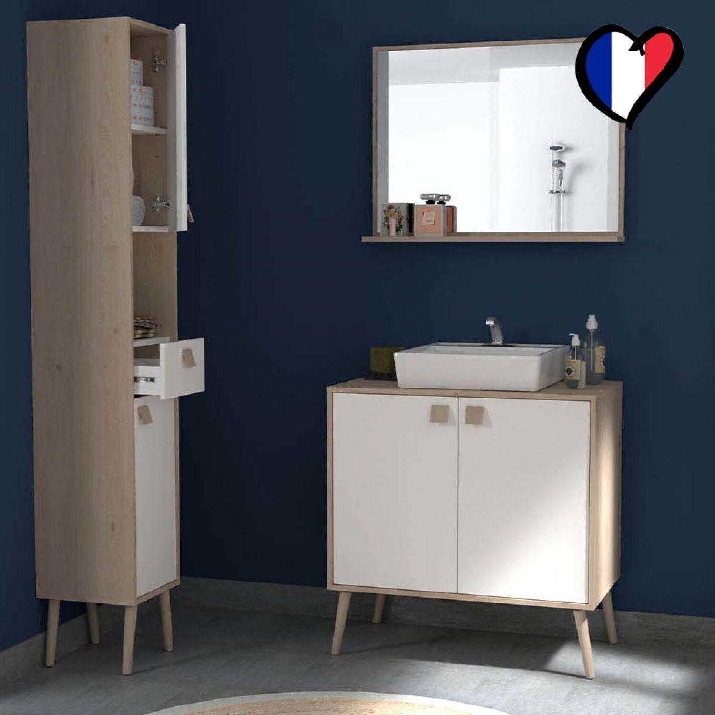 Arvada, 1 meuble, 1 miroir, 1 colonne
