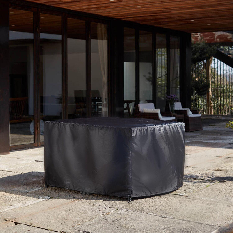 Housse de protection salon de jardin 119x119x70cm - Miami, Monaco, Sunset (4C & 4C4F)