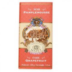 Tablette Chocolat Noir Pamplemousse Mazet 100 g