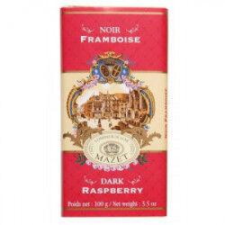 Tablette Chocolat Noir Framboise Mazet 100 g