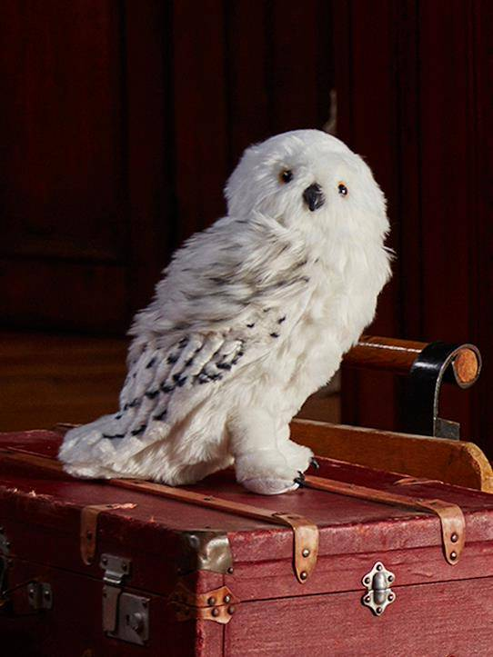 HARRY POTTER Peluche Hedwige grand format Collection Harry Potter blanc taille: TU