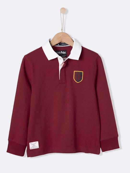 HARRY POTTER Polo-rugby Collection Harry Potter bordeaux taille: 16A