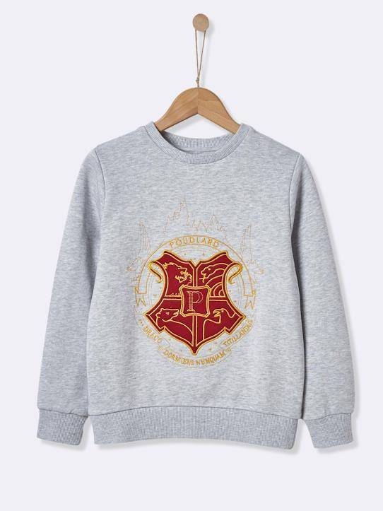 HARRY POTTER Sweat collection Harry Potter gris chiné taille: 16A