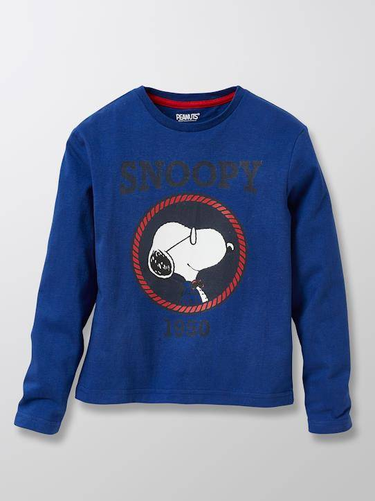 SNOOPY T-shirt Enfant Cyrillus X PEANUTS™ - Collection Snoopy bleu vif taille: 14A