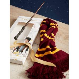 HARRY POTTER Coffret cadeau écharpe et baguette collection Harry Potter harry potter taille: TU - Publicité