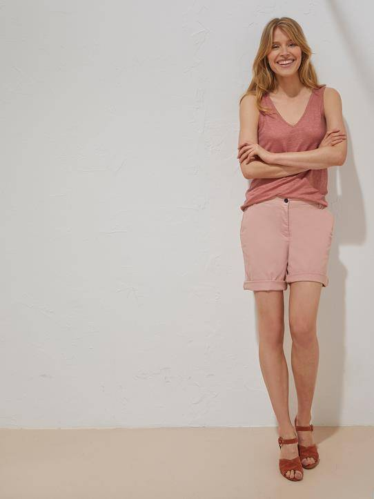 CYRILLUS Short chino femme make up taille: 34