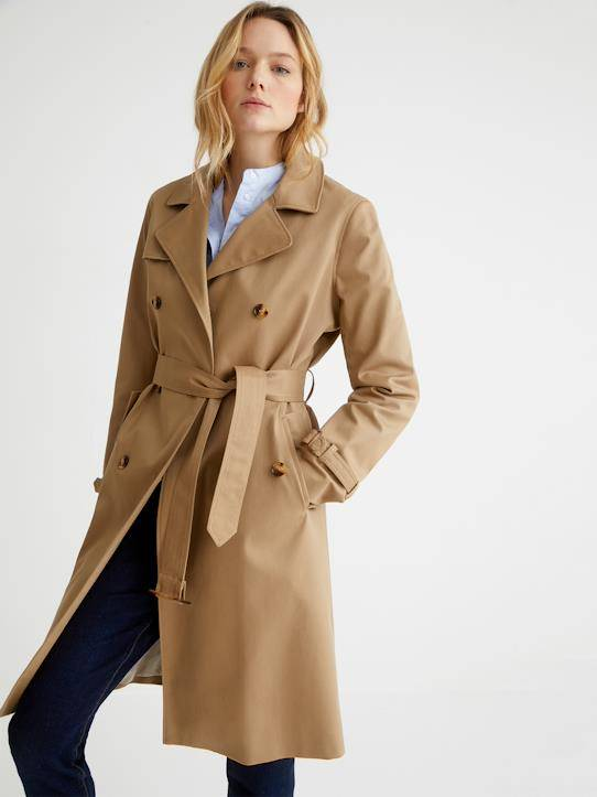 CYRILLUS Trench femme beige taille: 44