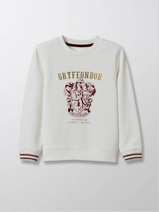 HARRY POTTER Sweat Enfant - Collection Harry Potter blanc taille: 10A