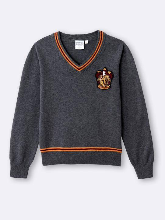 HARRY POTTER Pull Enfant - Collection Harry Potter gris chiné taille: 8A