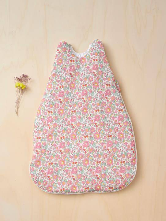 CYRILLUS Gigoteuse tissu Liberty Betsy liberty betsy (rose) taille: 70 CM