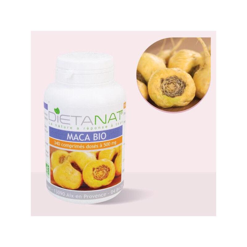 Dietanat Maca bio du Pérou - 340 Comprimés 500mg