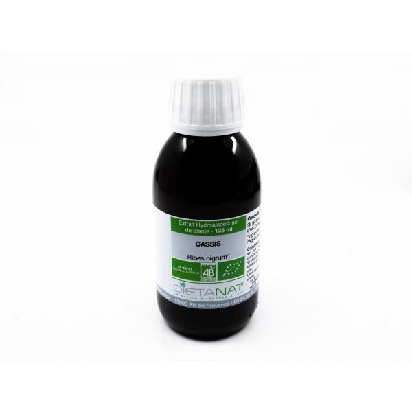 Dietanat Cassis bio - 125ml Teinture mère bio