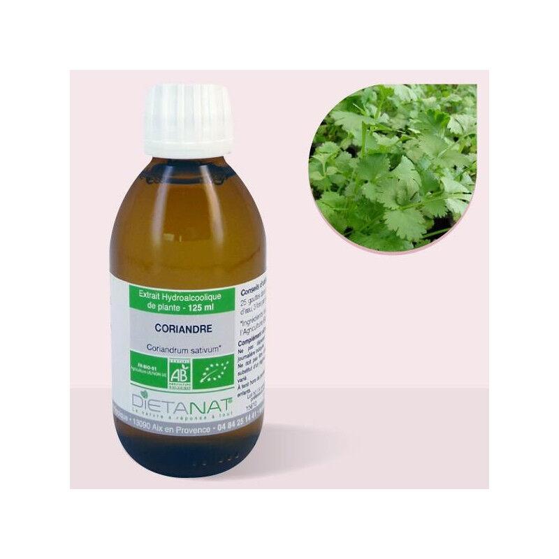 Dietanat Coriandre bio - 125ml Teinture mère bio