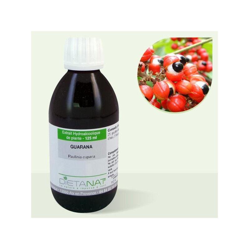 Dietanat Guarana - 125ml Teinture mère