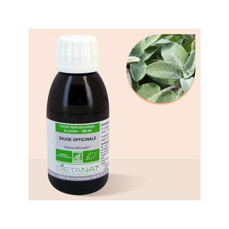 Dietanat Sauge officinale bio - 125ml Teinture mère bio