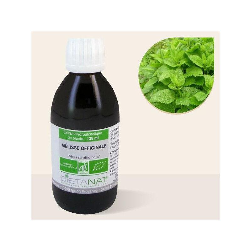 Dietanat Mélisse officinale bio - 125ml Teinture mère bio