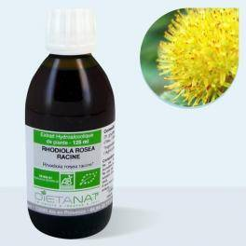 Dietanat Rhodiola Rosea bio - 125ml Teinture mère bio