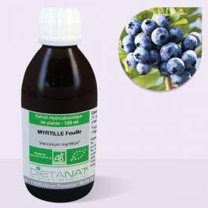 Dietanat Myrtille bio - 125ml Teinture mère bio