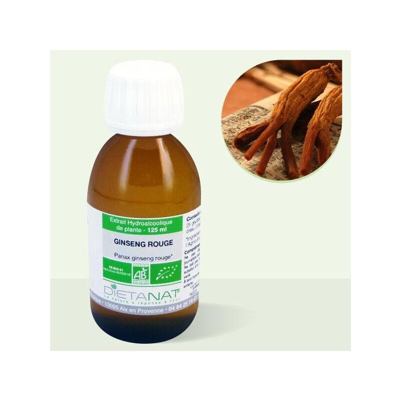 Dietanat Ginseng Rouge Panax bio - 125ml Teinture mère bio