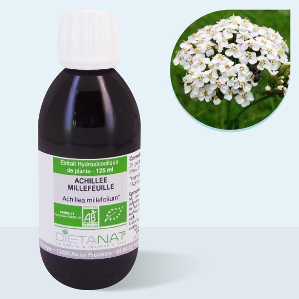 Dietanat Achillée millefeuille bio - 125ml Teinture mère bio