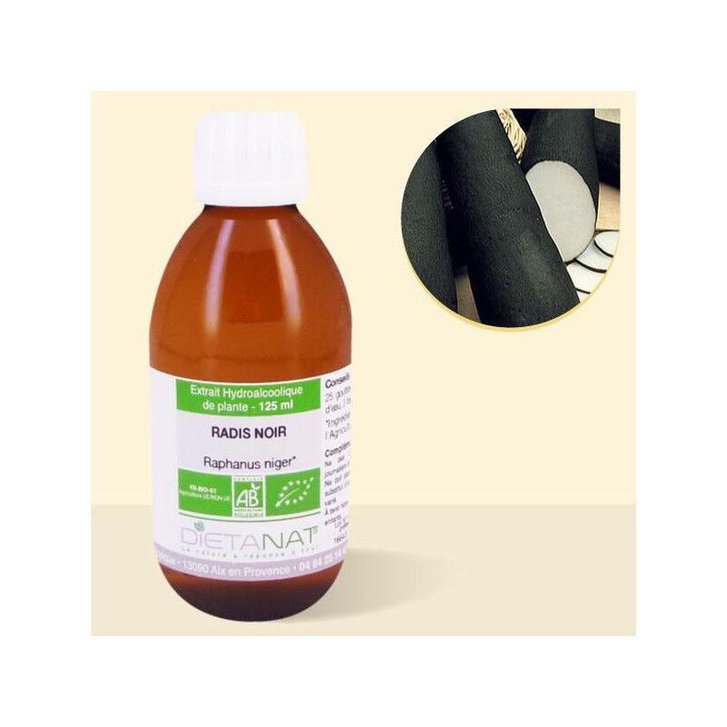 Dietanat Radis noir bio - 125ml Teinture mère bio