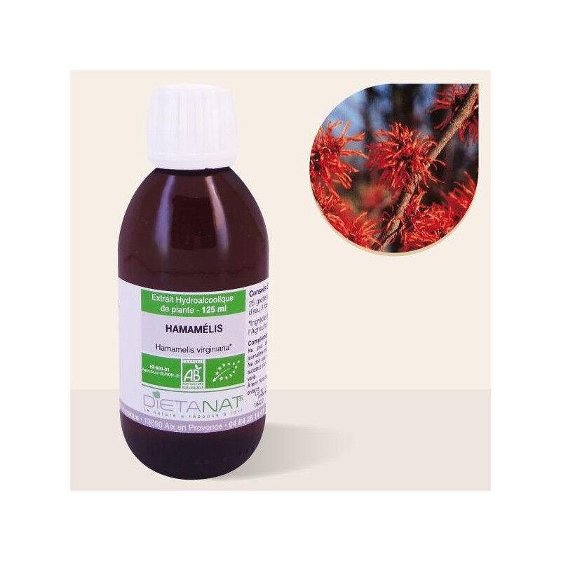 Dietanat Hamamelis Virginiana bio - 125ml Teinture mère bio