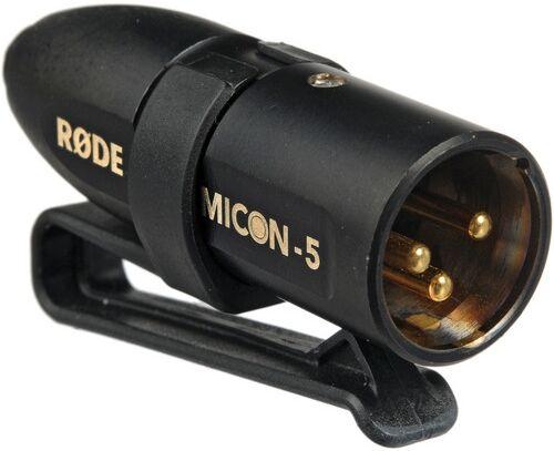 RODE Micon 5 Connecteur Jack pour HS1 pour XLR 3 Broches
