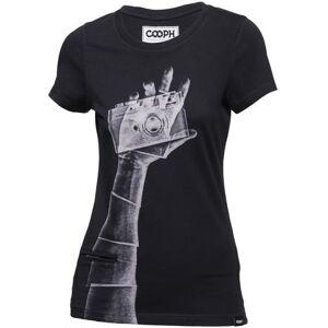 COOPH T-Shirt Femme Snapographer Noir Taille S - Publicité