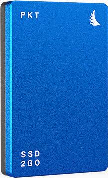 ANGELBIRD Disque Dur SSD2GO PKT 512Go Bleu USB 3.2 Mark II