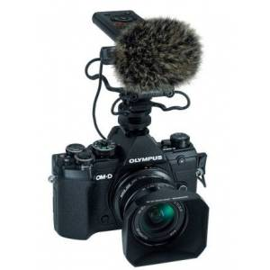 Olympus OM-D E-M5 Mark III Noir Vlogger Kit + 12mm F/2.0 - Publicité