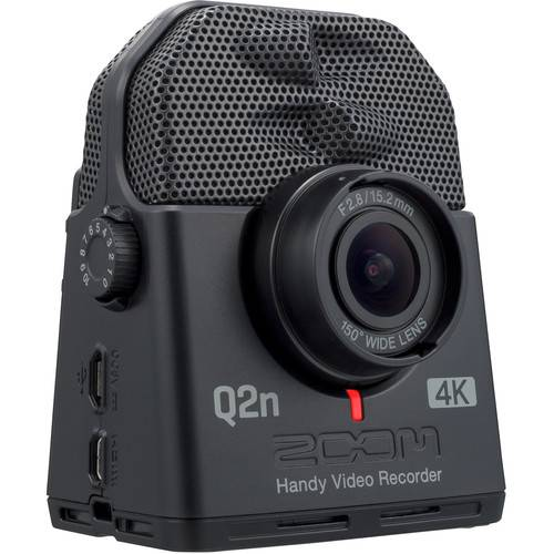 ZOOM Enregistreur Vidéo Portable Q2n-4K