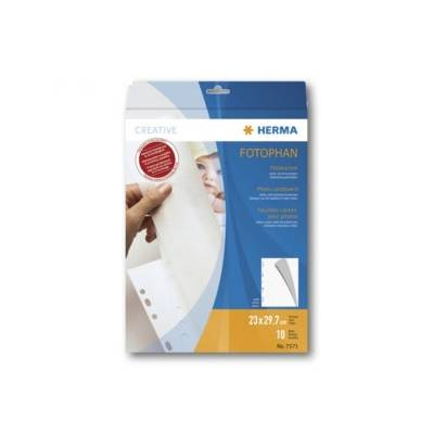 HERMA Feuillets carton 230x297 mm blanc 10 pcs